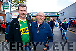 John Murrell and Padraig Lynch, Killarney, pictured at the All Ireland Minor Football Final of Kerry v Derry in Croke Park on Sunday last.