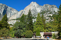 Visitor Center in Yosemite National Park, California.