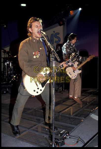 MANIC STREET PREACHERS.ref:473.live, stage, singing, gig, concert, playing guitar.www.capitalpictures.com.sales@capitalpictures.com.©Capital Pictures