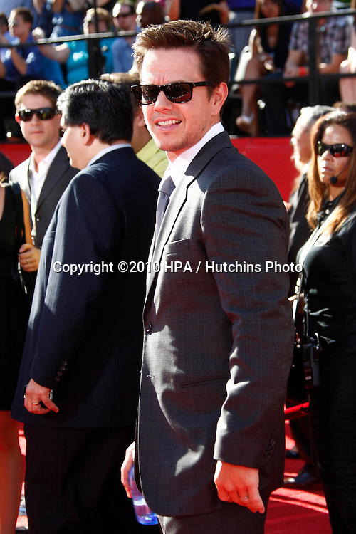 LOS ANGELES - JUL 14:  Mark Wahlberg arrives at the 2010 ESPY Awards at Nokia Theater - LA Live on July14, 2010 in Los Angeles, CA ....