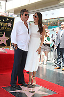 LOS ANGELES - AUG 22:  Simon Cowell,  Lauren Silverman at the Simon Cowell Star Ceremony on the Hollywood Walk of Fame on August 22, 2018 in Los Angeles, CA