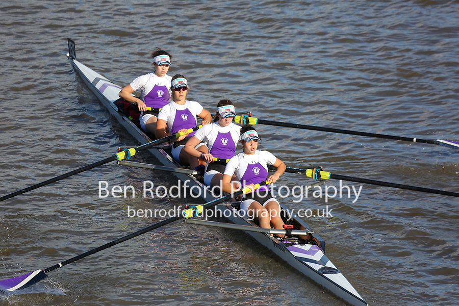 Crew: 152  PHS (B)  Putney High School (A Zedda James)  W 4+ Jun Champ<br /> <br /> Fours Head of the River 2018<br /> <br /> To purchase this photo, or to see pricing information for Prints and Downloads, click the blue 'Add to Cart' button at the top-right of the page.