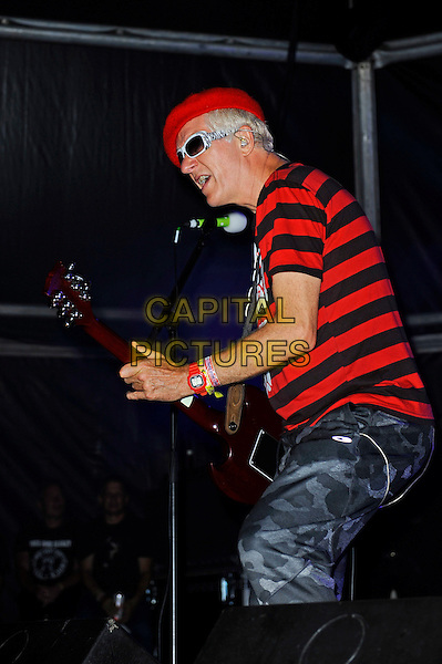 BLACKPOOL, ENGLAND - AUGUST 6: Captain Sensible(Raymond Ian Burns) of 'The Damned' performing at Rebellion Festival, Tower St Arena on August 6, 2016 in Blackpool, England.<br /> CAP/MAR<br /> &copy;MAR/Capital Pictures