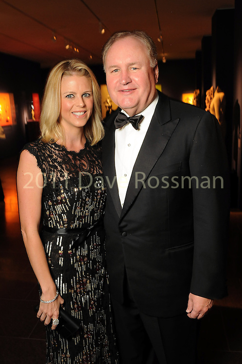 Elizabeth and Gary Petersen at the Museum of Fine Arts Houston 's 2010 Grand Gala Ball  Friday Oct. 01, 2010. (Dave Rossman/For the Chronicle)
