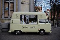 Jantje Vanille Street Food Truck, Brugge, Belgium