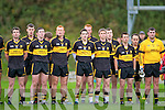 We are the Boys of Dr Crokes: Skipper Brian Looney leads his charges into battle in Killarney on Sunday  Crokes v Moanleen in the Munster Club Championship Quarter Final in Killarney on Sunday.