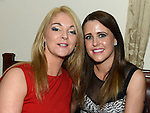 Kathleen Brogan and Tracy Kierans pictured at Sandra Byrne's 40th birthday in McHugh's. Photo:Colin Bell/essphotos.ie