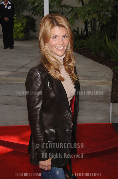"LORI LOUGHLIN at the Los Angeles premiere of ""Charlotte's Web"" at the Arclight Theatre, Hollywood..December 10, 2006  Los Angeles, CA.Picture: Paul Smith / Featureflash"