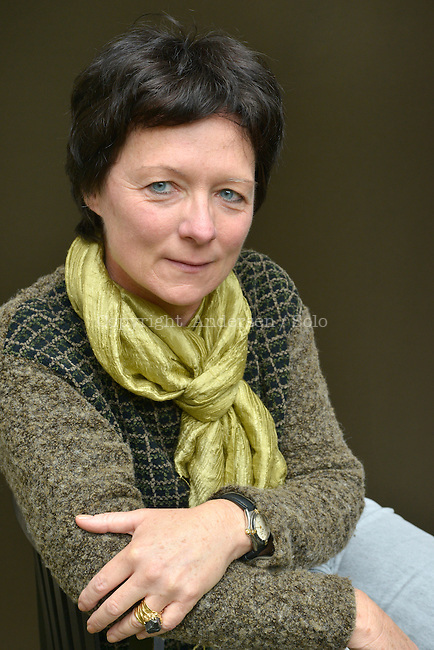 Claudie Gallay, French writer.