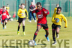 Park's Samuel Aladesanusi at the Regional Cup Final U-13 Tim Fitzgerald Cup at Christy Leahy Park on Saturday St. Brendans Park V Aisling Annacotty