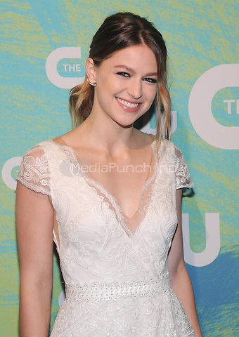 NEW YORK, NY - MAY 19:  Melissa Benoist attends the 2016 CW Upfront presentation at the London Hotel on May 19, 2016 in New York City. Photo Credit: John Palmer/ Media Punch