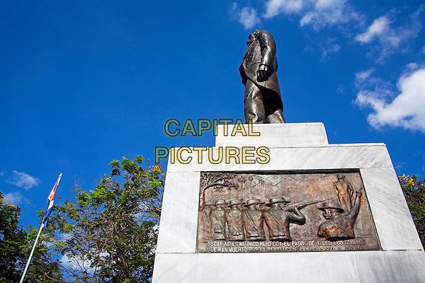 Carlos Manuel de Cespedes Monument, Parque Cespedes, Bayamo, Granma Province, Cuba