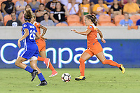 Houston, TX - Saturday July 22, 2017: Andressa Cavalari Machry during a regular season National Women's Soccer League (NWSL) match between the Houston Dash and the Boston Breakers at BBVA Compass Stadium.