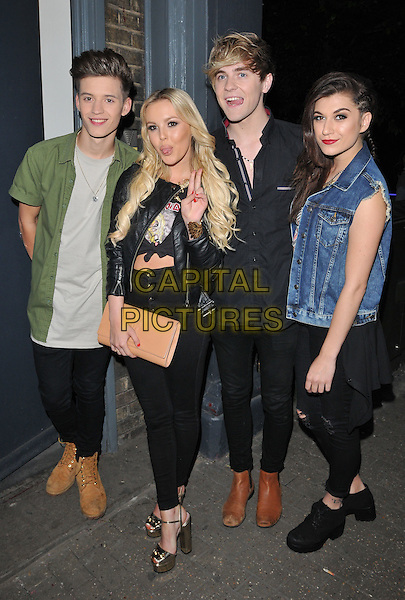 LONDON, ENGLAND - JULY 23: Only The Young attend the RUComingOut.com summer party, Royal Vauxhall Tavern, Kennington Lane, on Thursday July 23, 2015 in London, England, UK.  <br /> CAP/CAN<br /> &copy;Can Nguyen/Capital Pictures