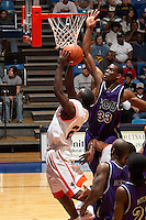 SAN ANTONIO, TX - DECEMBER 6, 2006: The Texas Christian University Horned Frogs vs. The University of Texas at San Antonio Roadrunners Men's Basketball at the UTSA Convocation Center. (Photo by Jeff Huehn)