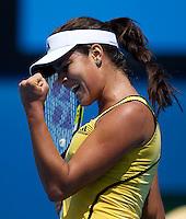 Ana Ivanovic (SRB) (20) against Gisela Dulko (ARG) in the Second Round of the Womens Singles. Dulko beat Ivanovic 6-7 7-5 6-4..International Tennis - Australian Open Tennis - Thur 21 Jan 2010 - Melbourne Park - Melbourne - Australia ..© Frey - AMN Images, 1st Floor, Barry House, 20-22 Worple Road, London, SW19 4DH.Tel - +44 20 8947 0100.mfrey@advantagemedianet.com