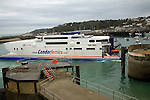 Condor Ferries fast ferry, St Peter Port, Guernsey, Channel Islands, UK