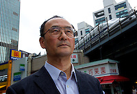 Shoichi Orii, a nuclear reactor engineer, one of the almost 300 Skilled Vetran`s Core (SVC) who is planning to head to Fukushima Daiichi to help save the plant and save Japan 09th June 2011.<br /> <br /> photo by Richard Jones  / Sinopix<br /> <br /> photo by Richard Jones  / Sinopix