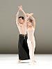 Dutch National Ballet <br /> Hans Van Manen - Master of Dance<br /> Grosse Fuge<br /> rehearsal / photocall<br /> 12th May 2011<br /> at Sadler's Wells. London, Great Britain <br /> <br /> Jozef Varga<br /> Anu Viheriaranta<br /> <br /> Photograph by Elliott Franks