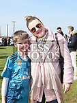 Erik and Lana Vangash at the Max Mason Memorial match at Seafields Laytown. Photo:Colin Bell/pressphotos.ie
