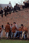 Eton college school, near nr Windsor Berkshire. England The Wall Game.