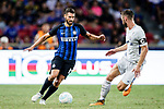 FC Internazionale Midfielder Antonio Candreva (L) plays against Chelsea Defender Gary Cahill (R) during the International Champions Cup 2017 match between FC Internazionale and Chelsea FC on July 29, 2017 in Singapore. Photo by Marcio Rodrigo Machado / Power Sport Images