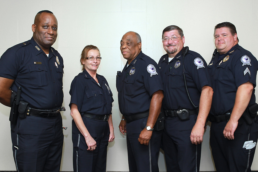 Emerson Police Department.  Photos by Aja Neahring.  Staff