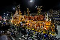 SAO PAULO, SP, 23/02/2020 - Carnaval 2020 -SP- Carnaval 2020, Desfile da Escola de Samba Gavioes da Fiel pelo segundo dia de Carnaval do grupo especial, no Sambodromo do Anhembi em Sao Paulo, SP, nesta domingo (23). (Foto: Marivaldo Oliveira/Codigo 19/Codigo 19)