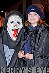 Pat and Shauna O'Shea, Killorglin, pictured at the annual Halloween parade in Killorglin on Saturday night.