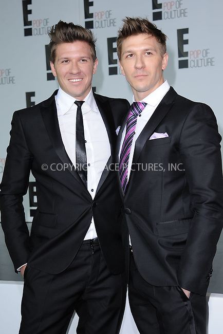 WWW.ACEPIXS.COM . . . . . .April 22, 2013...New York City....Daniel Koch and Derek Koch attend the E! 2013 Upfront at The Grand Ballroom at Manhattan Center on April 22, 2013in New York City.....Please byline: KRISTIN CALLAHAN - WWW.ACEPIXS.COM.. . . . . . ..Ace Pictures, Inc: ..tel: (212) 243 8787 or (646) 769 0430..e-mail: info@acepixs.com..web: http://www.acepixs.com .