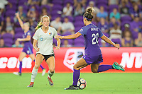 Orlando, FL - Saturday August 12, 2017: Nickolette Driesse during a regular season National Women's Soccer League (NWSL) match between the Orlando Pride and Sky Blue FC at Orlando City Stadium.