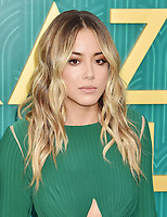 HOLLYWOOD, CA - AUGUST 07:  Chloe Bennet arrives at the Warner Bros. Pictures' 'Crazy Rich Asians' premiere at the TCL Chinese Theatre IMAX on August 7, 2018 in Hollywood, California.<br /> CAP/ROT/TM<br /> &copy;TM/ROT/Capital Pictures