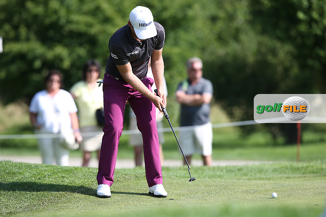 Tyrrell Hatton (ENG) held out with a 70 to play the weekend during Round Two of the 2015 BMW International Open at Golfclub Munchen Eichenried, Eichenried, Munich, Germany. 26/06/2015. Picture David Lloyd | www.golffile.ie