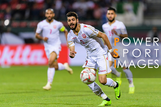 Waleed Mohamed Alhayam of Bahrain in action during the AFC Asian Cup UAE 2019 Round of 16 match between South Korea (KOR) and Bahrain (BHR) at Rashid Stadium on 22 January 2019 in Dubai, United Arab Emirates. Photo by Marcio Rodrigo Machado / Power Sport Images