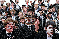 Action from the 2017 1st XV UC Championship & UC Cup rugby match between Christchurch Boys' High School and Christ's College at Christchurch BHS in Christchurch, New Zealand on Wednesday, 1 June 2017. Photo: Martin Hunter/ lintottphoto.co.nz