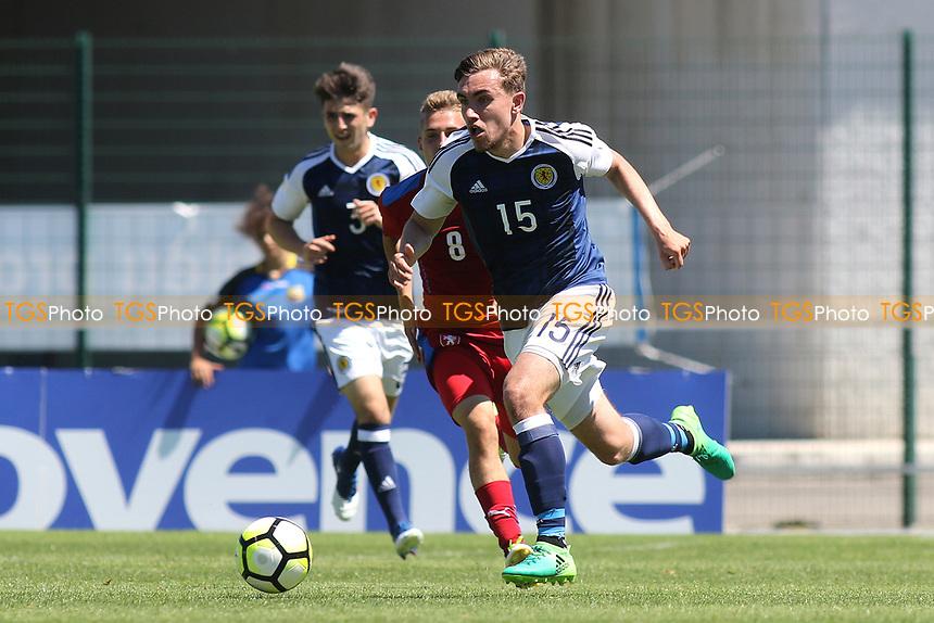 Joe Thomson of Celtic and Scotland U20's during Czech Republic Under-20 vs Scotland Under-20, Toulon Tournament Football at Stade de Lattre-de-Tassigny on 10th June 2017