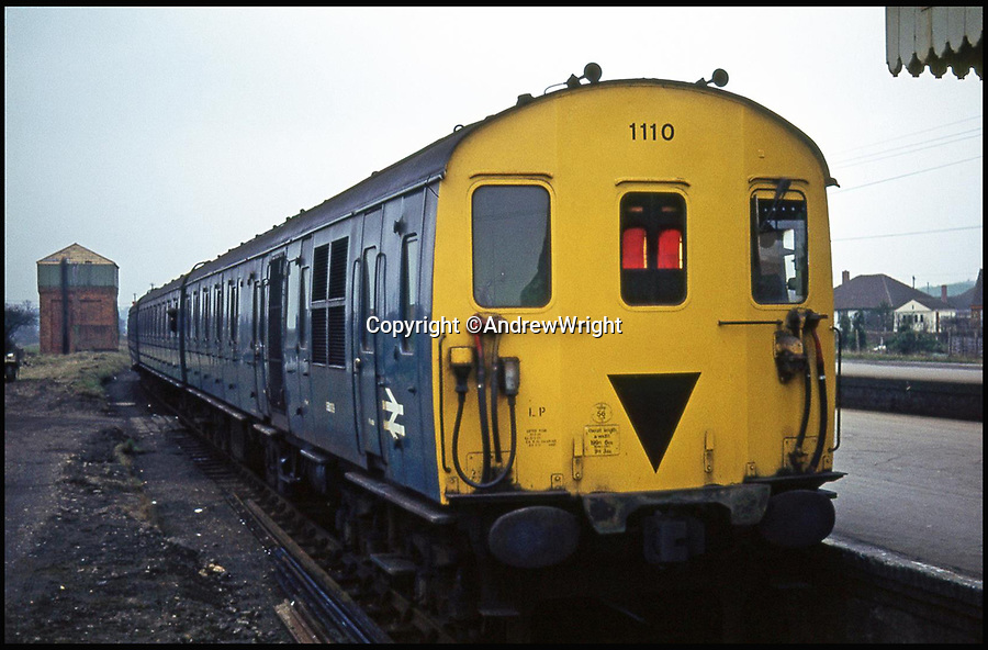 BNPS.co.uk (01202 558833)<br /> Pic: AndrewWright/BNPS<br /> <br /> Wareham, Jan 1972.<br /> <br /> A public train service is to run on a railway line ripped up in the 'Beeching Axe' thanks to an army of volunteers who have spent 45 years painstakingly rebuilding it. <br /> <br /> From next month timetabled passenger trains will operate on a daily basis from the mainline down to Swanage in Dorset.<br /> <br /> The Victorian town was effectively cut off from the rail network in 1972 after Dr Richard Beeching, a government railway advisor, recommended it be one of hundreds of loss-making rural lines axed.<br /> <br /> Since then hundreds of people have restored the track which has been upgraded to meet today's safety standards.