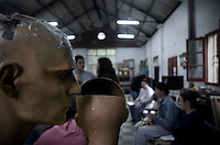 "Photo essay on the mental illnes institute Jose Borda in Buenos Aires, Argentina. Despite many plans to refurbish the place, this hospital is what doctor call a ""lunatics dump"", a place where they put those ones with no family, no money and little attention."