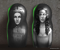 The final innermost grimhold contains both the evil sorcerer Morgana (Alice Krige) as well as Veronica (Monica Bellucci).