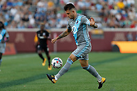 Minneapolis, MN - Saturday, July 29, 2017: Minnesota United FC played DC United in a Major League Soccer (MLS) game at TCF Bank stadium. Final score Minnesota United 4, DC United 0