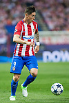 Fernando Torres of Atletico de Madrid  during the match of  Champions LEague between  Atletico de Madrid and LEicester City Football Club at Vicente Calderon  Stadium  in Madrid, Spain. April 12, 2017. (ALTERPHOTOS / Rodrigo Jimenez)