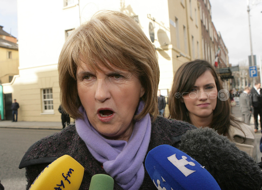 09/03/2011.Labour PArty TD Joan BurtonTD.during the 1st day of the 31st Dail.at Leinster House,  Dublin..Photo: Gareth Chaney Collins
