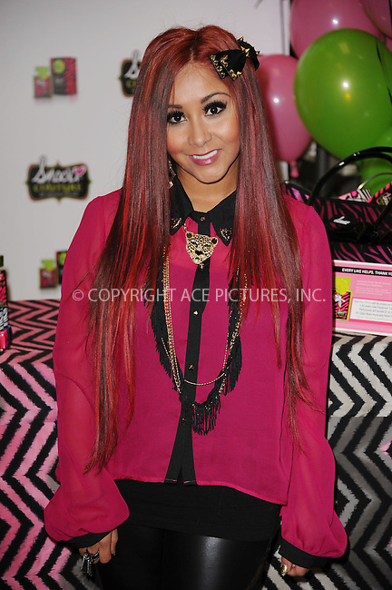 "WWW.ACEPIXS.COM . . . . . .November 19, 2012...New York City....Nicole ""Snooki"" Polizzi at Perfumania to promote her Snooki Couture fragrance on November 19, 2012 in New York City. ....Please byline: KRISTIN CALLAHAN - WWW.ACEPIXS.COM.. . . . . . ..Ace Pictures, Inc: ..tel: (212) 243 8787 or (646) 769 0430..e-mail: info@acepixs.com..web: http://www.acepixs.com ."