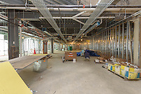 Bridgeport Hospital - Park Avenue Campus Outpatient Center. Architect: Shepley Bulfinch. Contractor: Gilbane Building Company, Glastonbury, CT. James R Anderson Photography, New Haven CT, photog.com. Date of Photograph: 10 August 2015  Submission 17  © James R Anderson