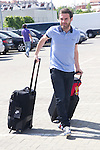 01.06.2012. Arrival of the players in the Spanish football team squad for the European Championship in Poland and Ukraine to the Ciudad del Futbol of Las Rozas, Madrid. In the image Juan Manuel Mata  (Alterphotos/Marta Gonzalez)