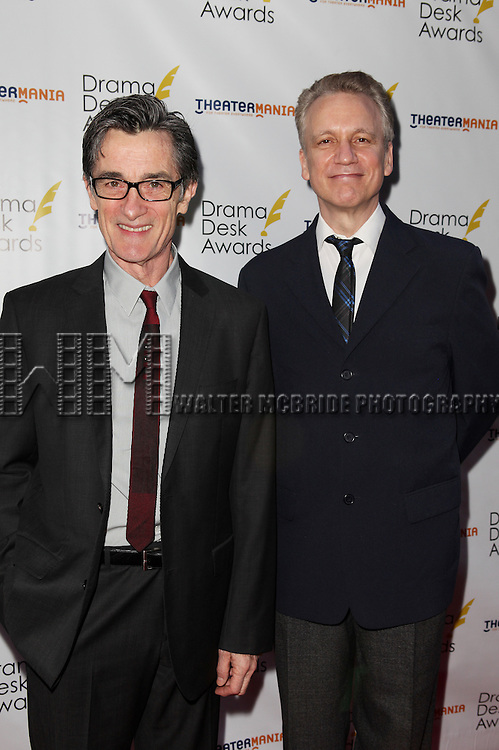 Roger Rees and Rick Elice pictured at the 57th Annual Drama Desk Awards held at the The Town Hall in New York City, NY on June 3, 2012. © Walter McBride