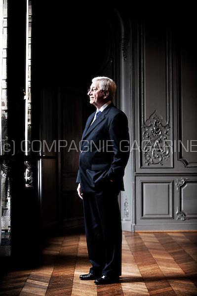 Julien De Wilde, chairman of the Agfa-Gevaert and Nyrstar companies (Belgium, 16/02/2012)