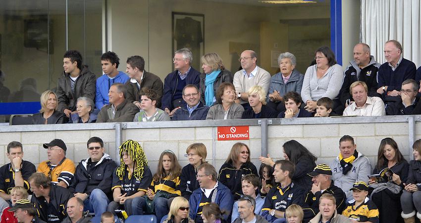 Photo: Richard Lane..London Wasps v London Irish. EDF Anglo-Welsh Cup. 08/10/2006. .Wasps hospitality box.
