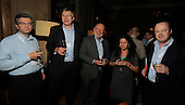 drinks reception, Oil and Gas Decommissioning Conference, Dunblane Hydro - l to r - Stuart Robertson, Roy Aspden, Brian Nixon, Catherine Morgan, Stuart Wordsworth - 6.10.10 - picture by Donald MacLeod - mobile 07702 319 738 - clanmacleod@btinternet.com - www.donald-macleod.com
