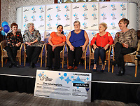Pictured L-R: Jule Saunders, Jean Cairns, Louise Ward, Sian Jones, Doreen Thompson and Julie Amphlett. Wednesday 08 November 2017<br />